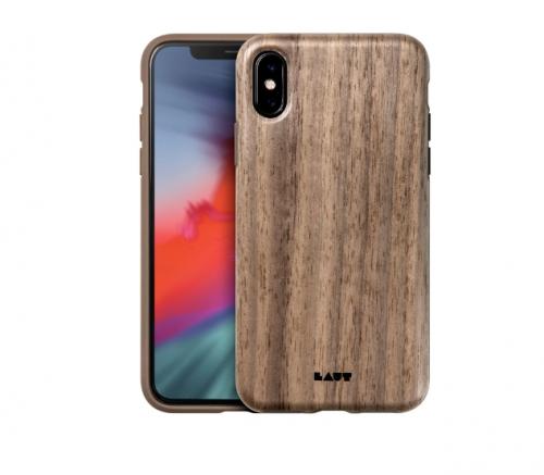 Ốp lưng Iphone X/XS Laut Pinnacle vân gỗ tự nhiên ,2