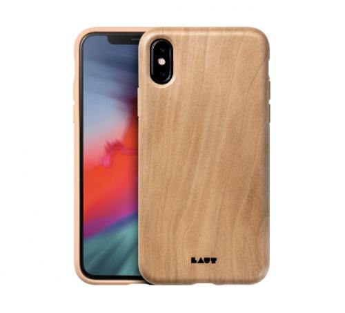 Ốp lưng Iphone X/XS Laut Pinnacle vân gỗ tự nhiên ,3