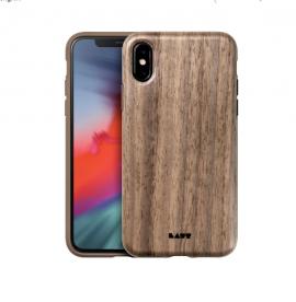 Ốp lưng Iphone X/XS Laut Pinnacle vân gỗ tự nhiên