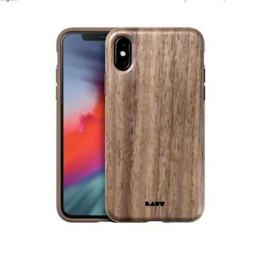 Ốp lưng Iphone X/XS Laut Pinnacle vân gỗ tự nhiên ,4