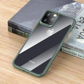 Ốp lưng Iphone 11 Pro Max Rock Bumper trong suốt