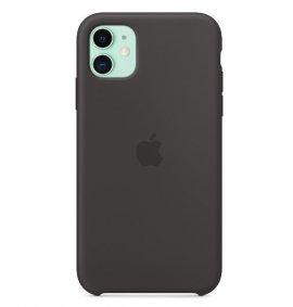 Ốp lưng Iphone 11 chính hãng Apple Case Silicon (Real) màu đen