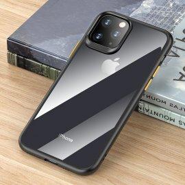 Ốp lưng Iphone 11 Pro Max Rock trong suốt viền Bumper