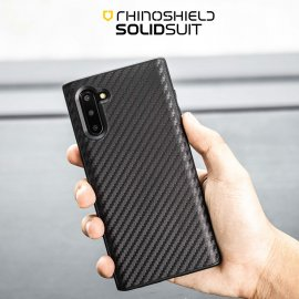 Ốp lưng Galaxy Note 10 Plus Rhinoshield Solid Suite Carbon USA
