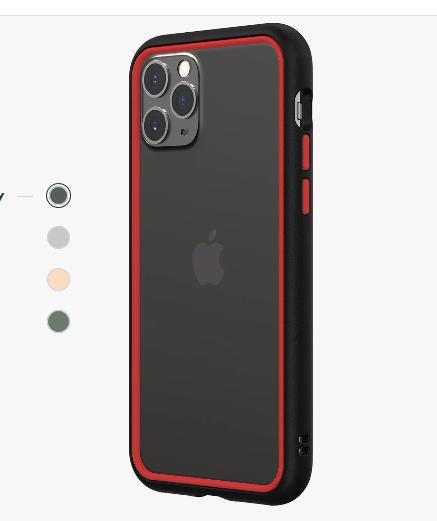 Ốp viền Iphone 11 Pro Rhinoshield CrashGuard NX chống sốc USA ,5