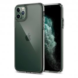 Ốp lưng Iphone 11 Pro Spigen Crystal Hybrid trong suốt USA