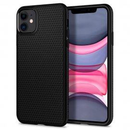 Ốp lưng Spigen Liquid Air Matte Black cho iPhone 11
