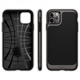 Ốp lưng Spigen Neo Hybrid Gunmetal cho iPhone 11 Pro Max