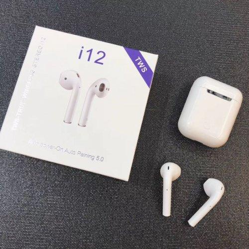 Tai nghe i12 Bluetooth ,1
