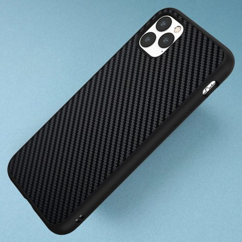 Ốp lưng Iphone 11 Pro Max RhinoShield Solid Suit Carbon cực chất USA ,1