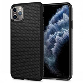 Ốp lưng Spigen Liquid Air Matte Black cho iPhone 11 Pro Max