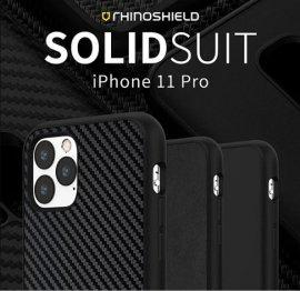Ốp lưng Iphone 11 Pro RhinoShield Solid Suit Carbon cực chất USA