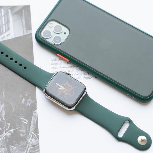 Dây Apple Watch Coteeci màu xanh rêu (38/40/42/44mm) ,5