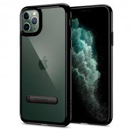Ốp lưng Spigen Ultra Hybrid S Black cho iPhone 11 Pro Max