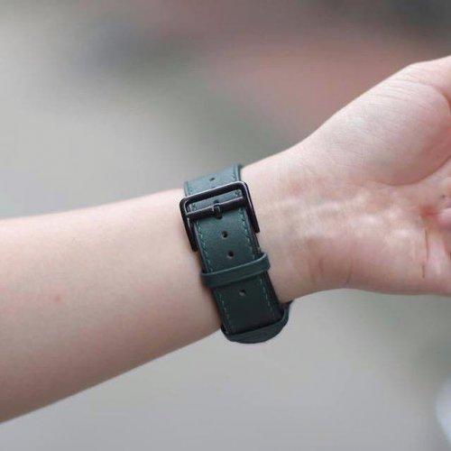 Dây Apple Watch Hermes Single Tour màu xanh (38/40/42/44mm) ,3