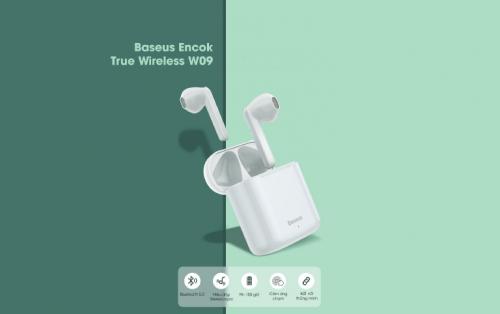 Tai nghe True Wireless W09 Baseus ,1