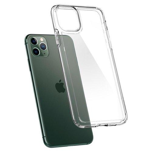 Ốp lưng Spigen iphone 11 pro max Crytal hybrid ,3