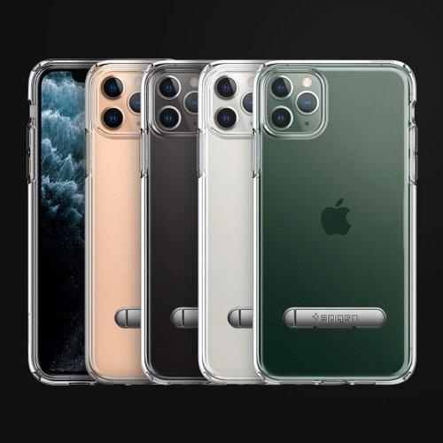 Ốp lưng iPhone 11 Pro Max Spigen Ultra Hybrid S Crystal Clear ,2