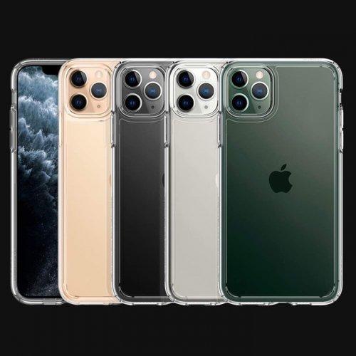 Ốp lưng Spigen iphone 11 pro max Crytal hybrid ,4