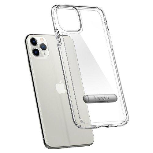 Ốp lưng iPhone 11 Pro Max Spigen Ultra Hybrid S Crystal Clear ,3
