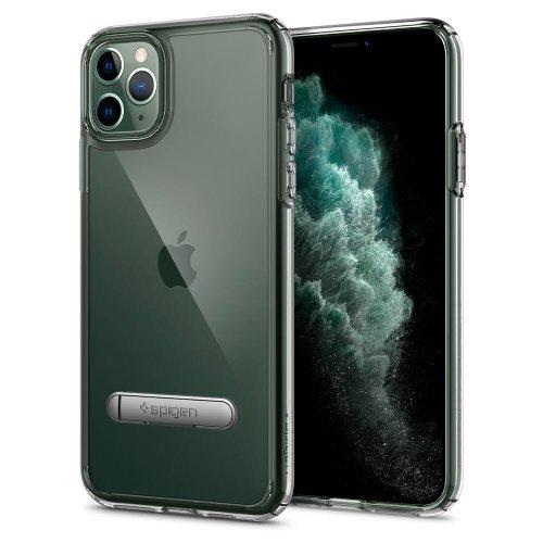 Ốp lưng iPhone 11 Pro Max Spigen Ultra Hybrid S Crystal Clear ,1