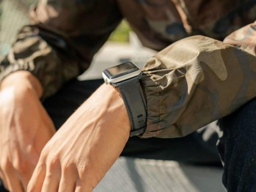 Dây đeo Apple Watch UAG Leather USA Cao cấp size 42/44 ,3