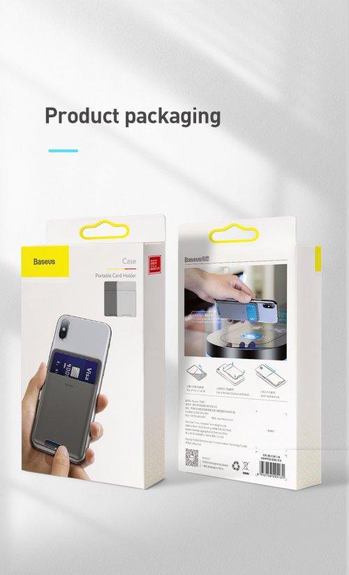 Case đựng thẻ siêu mỏng gắn lưng điện thoại ,1