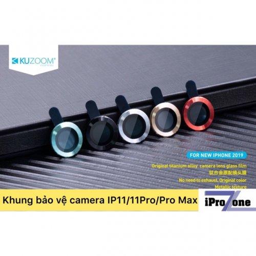 Kính cường lực bảo vệ Camera cho iPhone 11 Pro / 11 Pro Max ,3