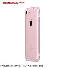 Ốp viền Iphone SE 2020 Sword Pro nhôm nguyên khối (Japan)