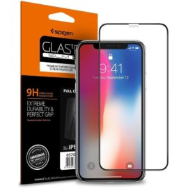Miếng Dán Cường Lực Spigen Glass Full Cover Premium 9H Tempered