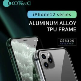 Ốp viền nhôm COTEetCI Cho Iphone 12 Pro Max