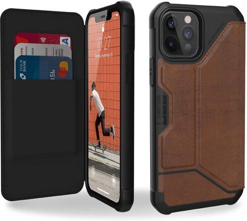 Bao da Iphone 12/ 12 Pro UAG Metropolis Leather ,1