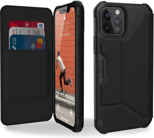 Bao da Iphone 12/ 12 Pro UAG Metropolis PU ,1