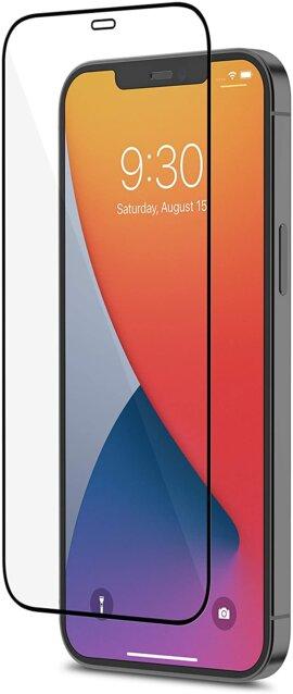 Miếng dán cường lực Full màn hình chống bụi màn loa Mazer (2.5D) cho iPhone 12/12 pro/ 12  Pro Max